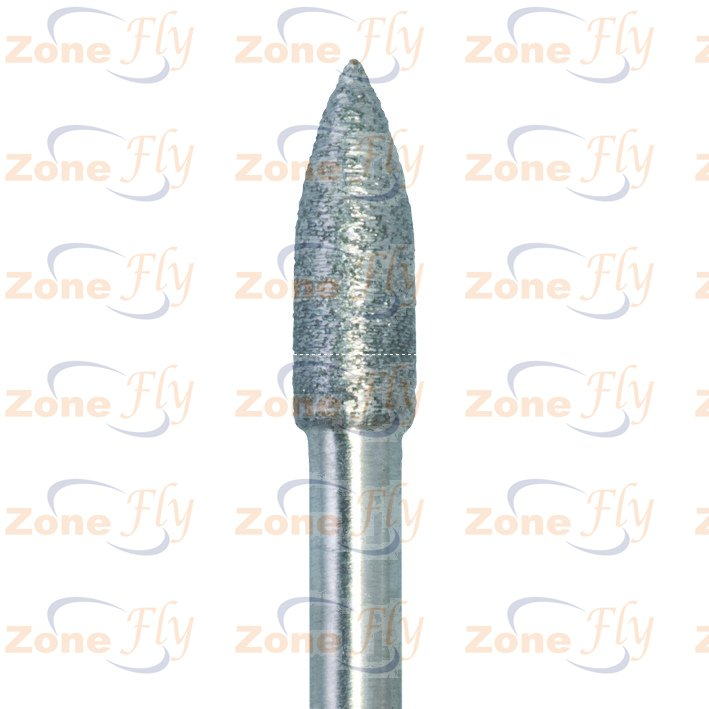 Dental Burs Cylindrical pointed end